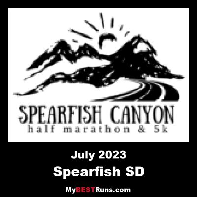 Spearfish Canyon Half Marathon