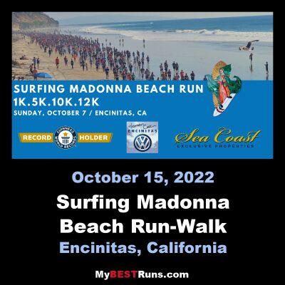 Surfing Madonna Beach Run-Walk