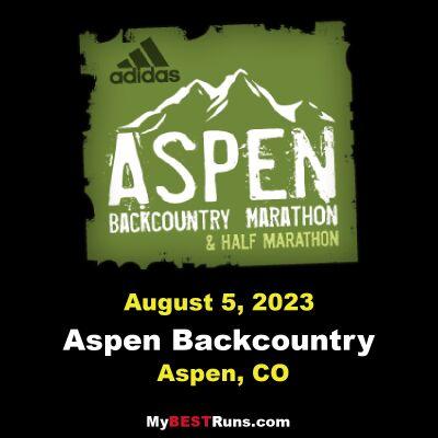 Aspen Backcountry Marathon & Half Marathon