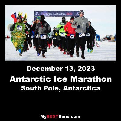 Antarctic Ice Marathon