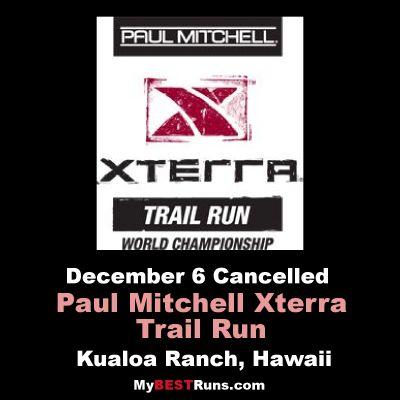 Paul Mitchell Xterra Trail Run World Championship
