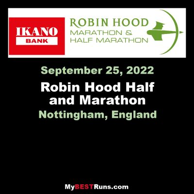 Robin Hood Half and Marathon