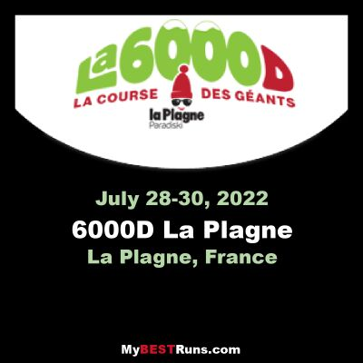 6000D La Plagne