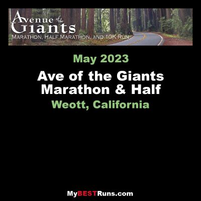Ave of the Giants Marathon & Half Marathon