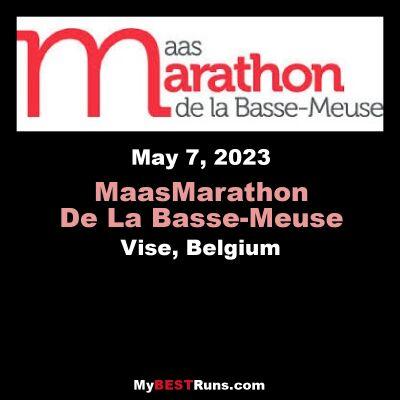 Maas Marathon De La Basse-Meuse