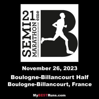 Boulogne-Billancourt Half Marathon