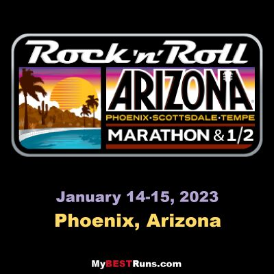 Rock 'n' Roll Arizona Marathon Weekend