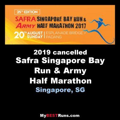 Safra Singapore Bay Run & Army Half Marathon