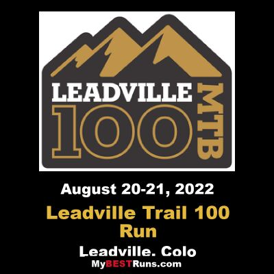 Leadville Trail 100 Run