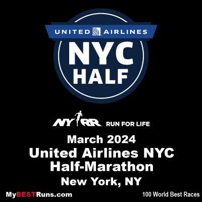 United Airlines NYC Half-Marathon