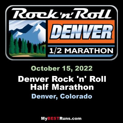 Denver Rock 'n' Roll Half Marathon