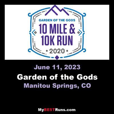 Garden of the Gods Ten Mile Run