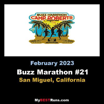 Buzz Marathon #18