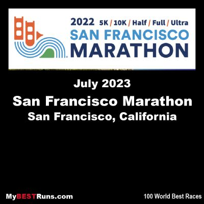 San Francisco Marathon Weekend