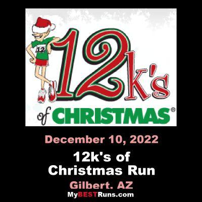 12k's of Christmas Run