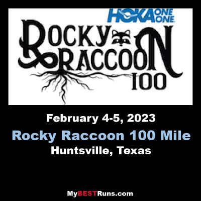 Rocky Raccoon 100 mile