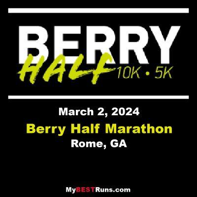 Berry Half Marathon