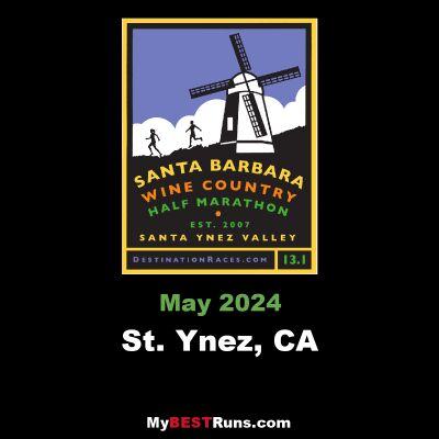 Santa Barbara Wine Country Half Marathon