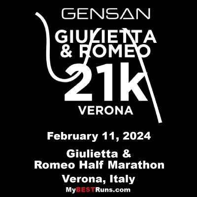 Giulietta & Romeo Half Marathon