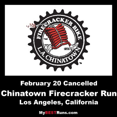 Los Angeles Chinatown Firecracker Run