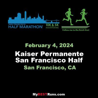 Kaiser Permanente San Francisco Half Marathon and 5K