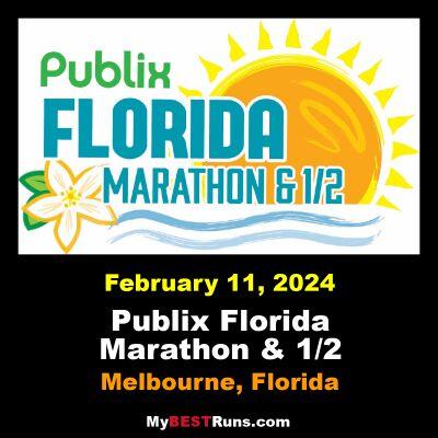 Publix Florida Marathon & 1/2 Marathon